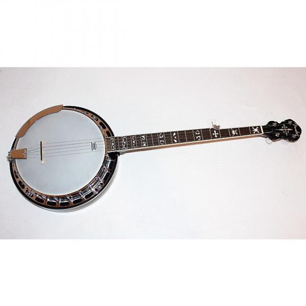 Custom Fender FB-55 5-string Resonator Banjo w/ Case #1 image