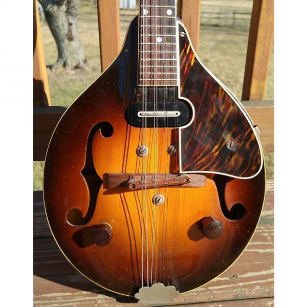 Custom Gibson EM100 A Style Mandolin w/Pick Up 1940's 2 Color Sunburst #1 image