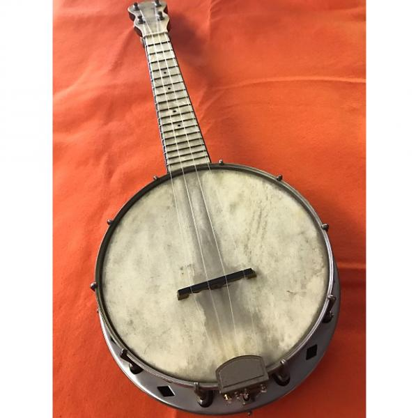 Custom Vintage Banjolele Banjo Uke Soprano Pearloid Fingerboard #1 image