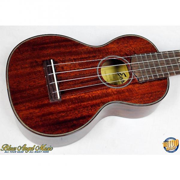 Custom Eastman EU3S Figured Mahogany Soprano Ukulele w/HSC, Grover Tuners, NEW!! #20734 #1 image