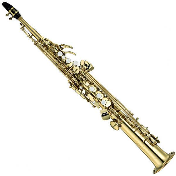 Custom Yamaha YSS475II Intermediate Soprano Sax  (YSS-475II) #1 image