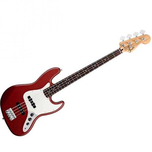 Custom Fender Standard Jazz Bass Candy Apple Red #1 image