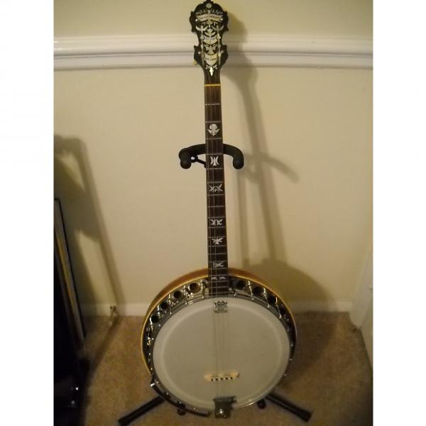 "Custom 1926 Paramount Style ""C"" tenor banjo - Beautiful condition #1 image"