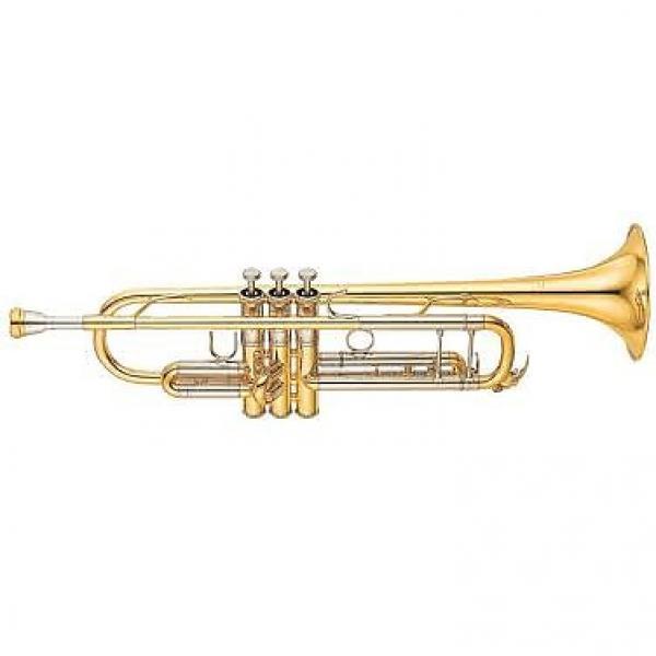 Custom Yamaha YTR8335II Xeno Professional Yellow Brass Bell Trumpet (YTR-8335II) #1 image