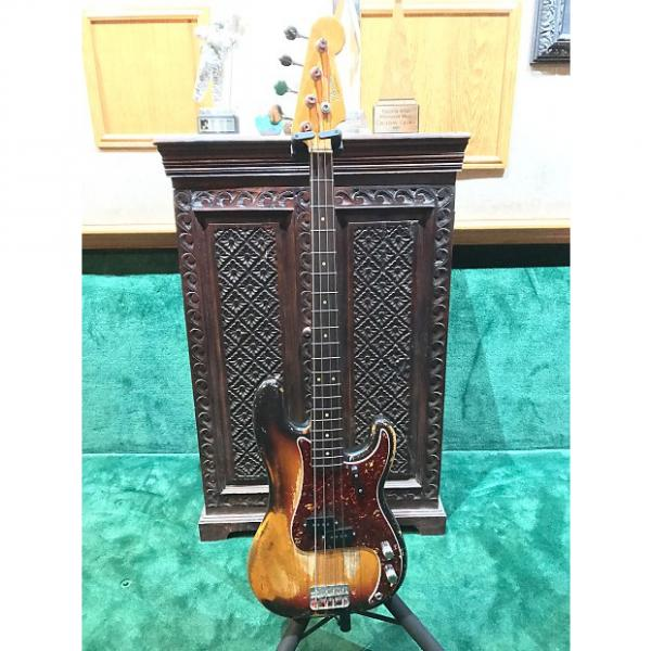 Custom Fender Precision Bass 1964 3 Tone Sunburst #1 image