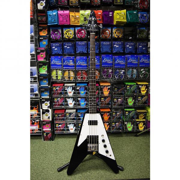 Custom Pete Back Custom Flying Vee bass guitar S/H #1 image