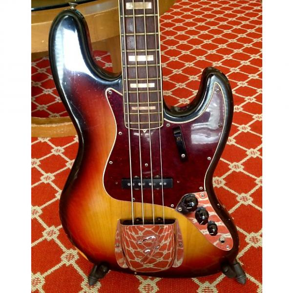 Custom Fender 1968 Jazz Bass All Original with Original HSC in Collector Condition 1968 3 Color Sunburst #1 image