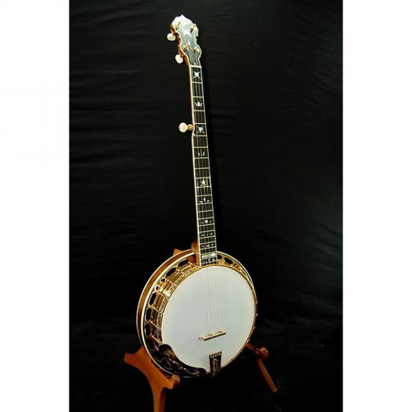 Custom Hopkins Renaissance Gold Banjo - Beautiful! #1 image