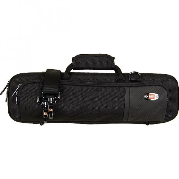 Custom SLIMLINE FLUTE PRO PAC CASE Black (PB308) #1 image