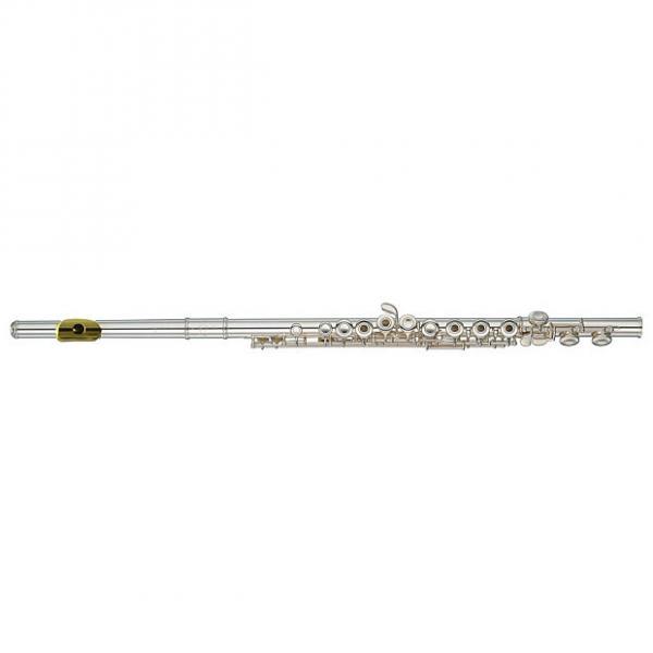 Custom Yamaha YFL372GL Intermediate Flute w/ Gold Lip Plate (YFL372 #1 image