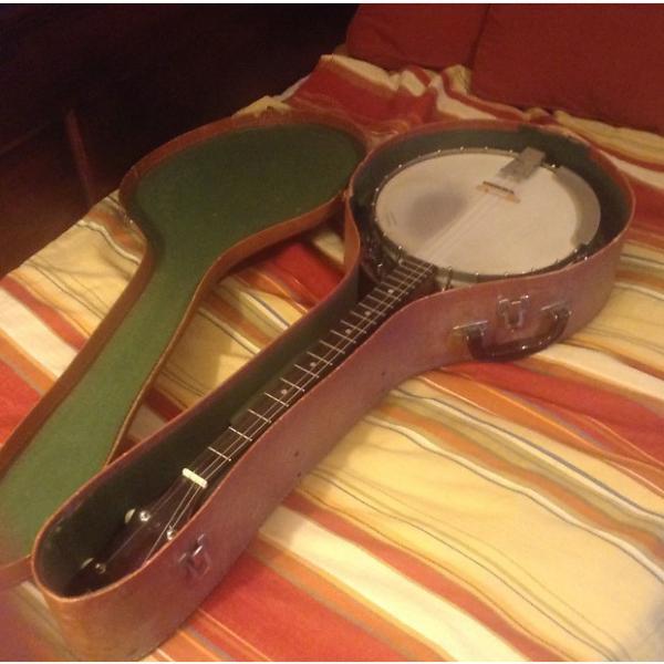 Custom Vega Sunburst 1960's Tenor Banjo 1960's Antique Sunburst #1 image