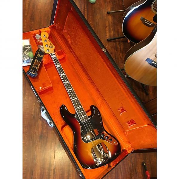 Custom Fender American Vintage '74 Jazz Bass  3-Color Sunburst Rosewood Fingerboard #1 image