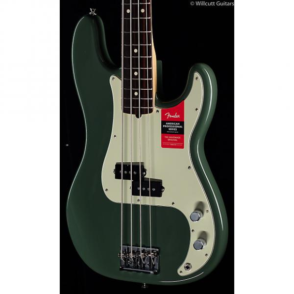 Custom Fender American Pro Professional Precision Bass Antique Olive Rosewood (196) #1 image