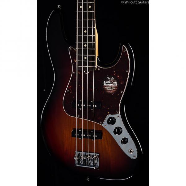 Custom Fender American Standard Jazz Bass® 3-Tone Sunburst, Rosewood (635) #1 image