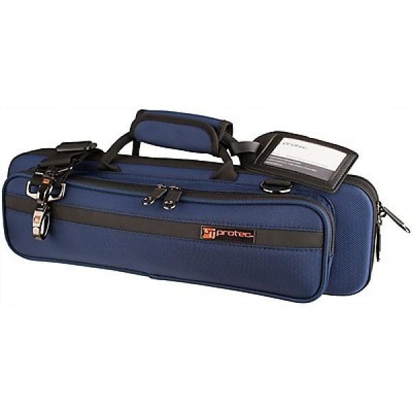 Custom SLIMLINE FLUTE PRO PAC CASE Blue (PB308BX) #1 image
