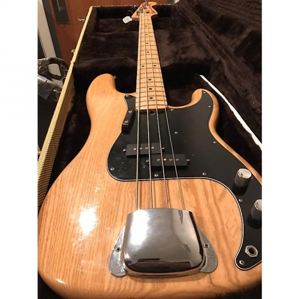 Custom Fender Precision Bass 1977 Natural (Free Shipping) #1 image