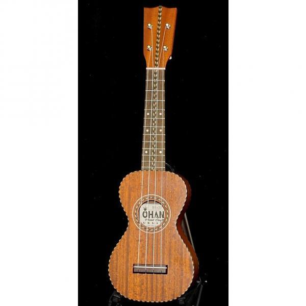 Custom OHANA SK-28 Limited Edition Solid Mahogany Vintage Nunes Style Soprano Ukulele #1 image