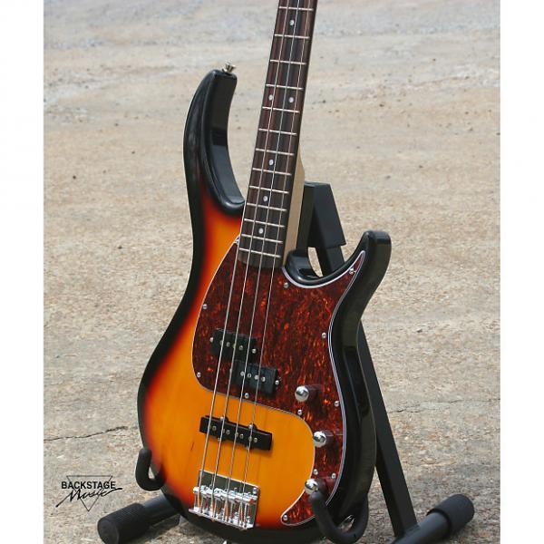Custom Peavey Milestone Vintage Sunburst 4 String Bass #1 image