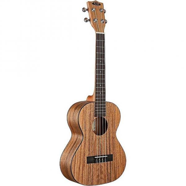 Custom Kala KA-PWT Pacific Walnut Tenor Acoustic Ukulele #1 image