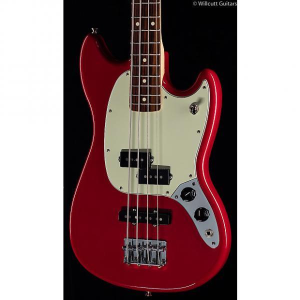 Custom Fender Mustang PJ Bass Torino Red (858) #1 image
