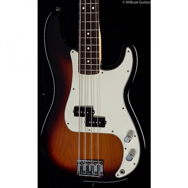 Custom Fender Standard Precision Bass® Brown Sunburst, Rosewood (660) #1 image