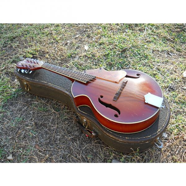 Custom Vintage Kay Venetian Style Mandolin, Original Case, Nice Shape, Needs Some TLC #1 image