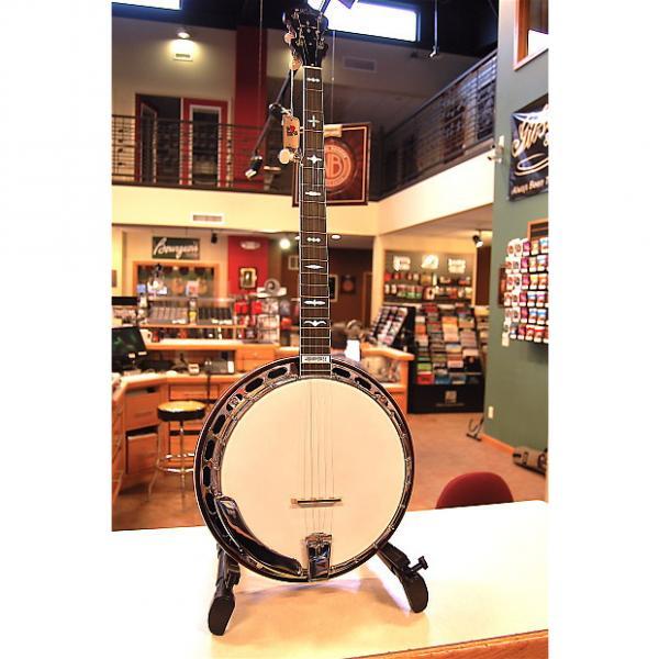 Custom Huber WN4 Walnut Workhorse Banjo #1 image