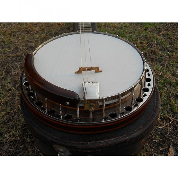 Custom Gretsch? Tenor Banjo '30s/ '40s Gold Metal Flake #1 image