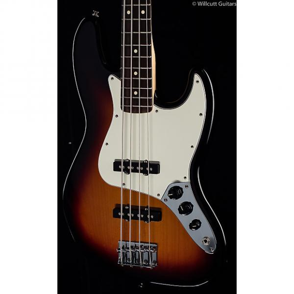 Custom Fender Standard Jazz Bass® Brown Sunburst, Rosewood (845) #1 image