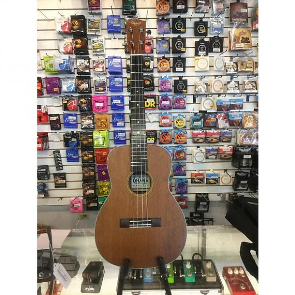 Custom Ohana Baritone Uke with soft TKL Case, extra strings and D'addario Humidifier #1 image