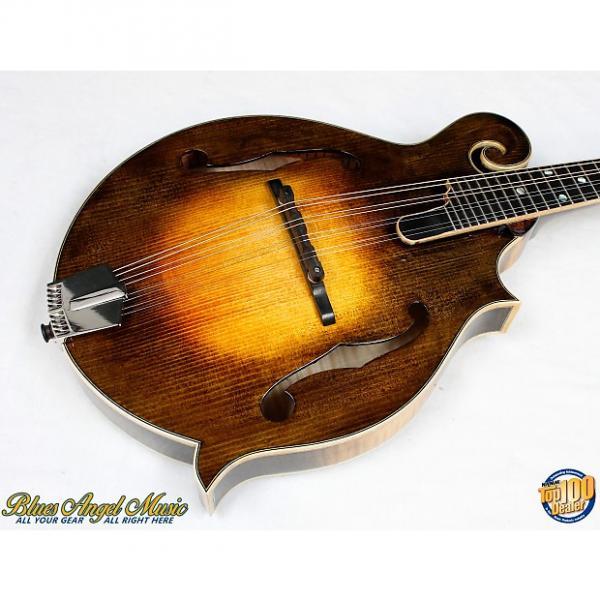 Custom Eastman MD915-SB Classic F-Style Mandolin w/HFC Solid Woods Flamed Maple! #38272 #1 image