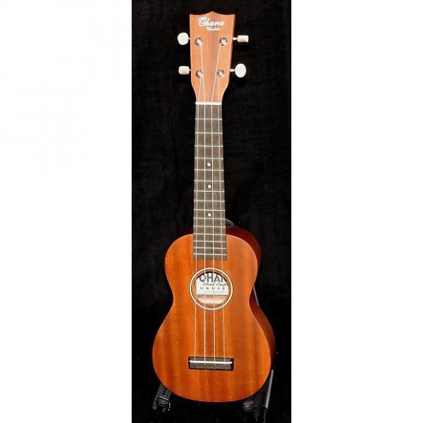 Custom Ohana SK-25 Solid Mahogany Soprano Ukulele #1 image