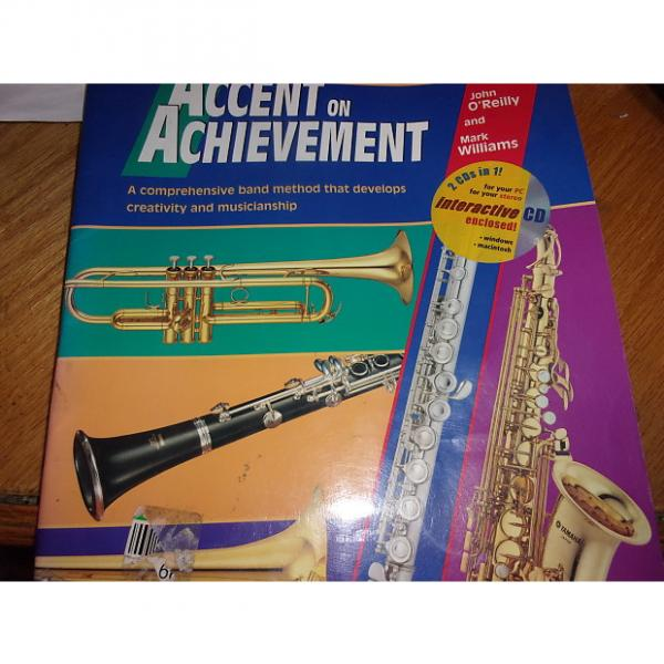 Custom Accent on Achievement, Book 1, B-flat Clarinet used  no CD John O'reilly and Mark Williams #1 image