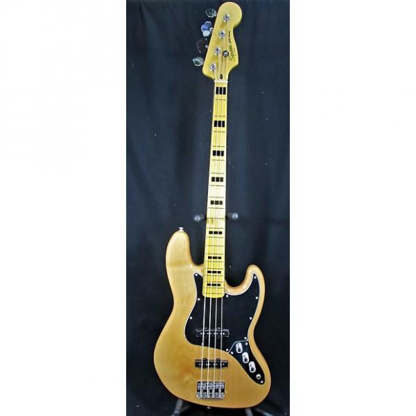Custom Squier Vintage Modified Jazz Bass 70's 2016 Natural #1 image