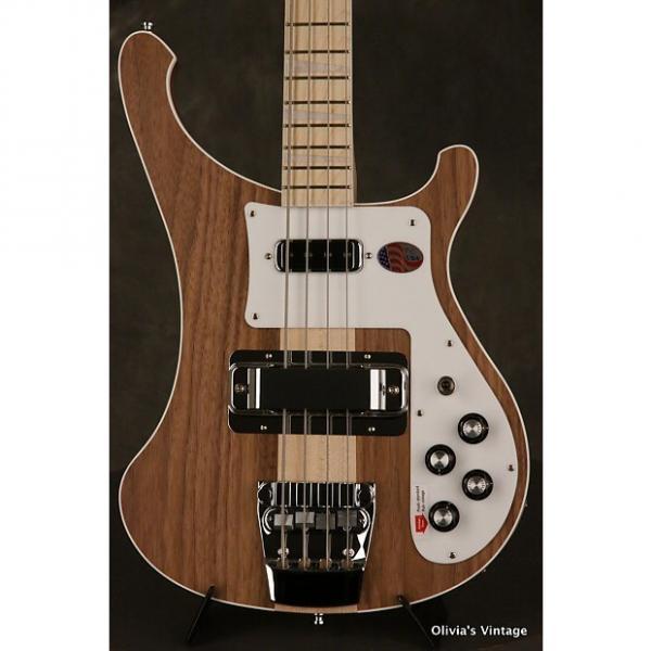 Custom 2017 Rickenbacker 4003 W Bass Walnut unplayed/MINT!!! #1 image
