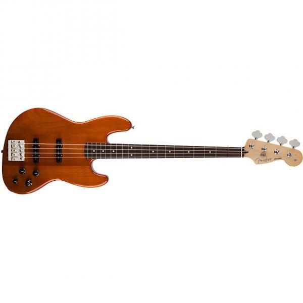 Custom Fender Deluxe Active Jazz Bass Okume Rosewood Fingerboard Electric Bass Guitar #1 image