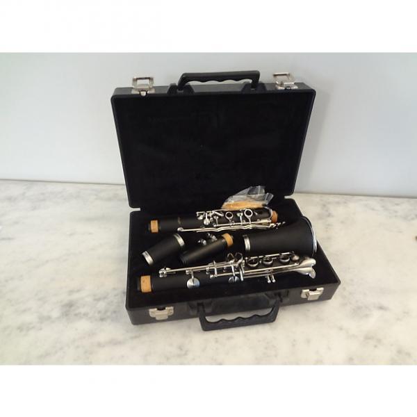 Custom LJ Hutchen Bb Clarinet with Plush-Lined Case - 4216 black #1 image
