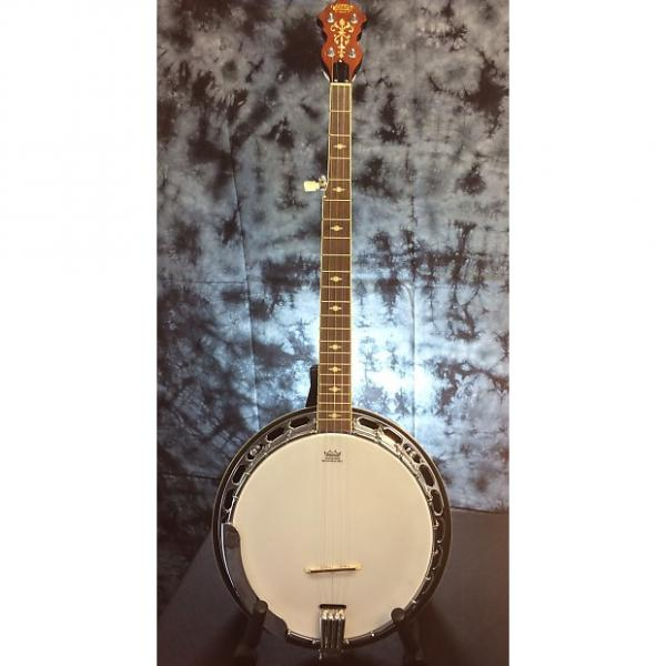 Custom Gretsch G9400 Broadkaster Deluxe 5 String Resonator Banjo #1 image