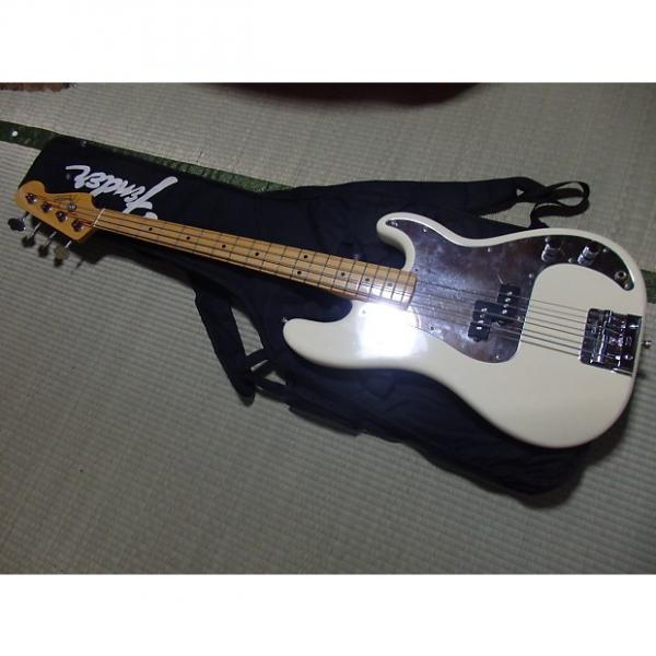 Custom 1982-Fender-Japan-034-JV-034-P-Bass-PB57-Precision-Tone-Vintage-White-rare  1982-Fender-Japan-034-J #1 image