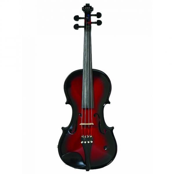 Custom Barcus Berry Acoustic Electric Violin - Red Sunburst #1 image
