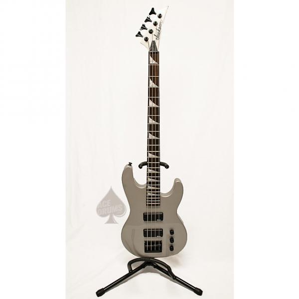 Custom Jackson 4 String Bass Silver/Grey #1 image