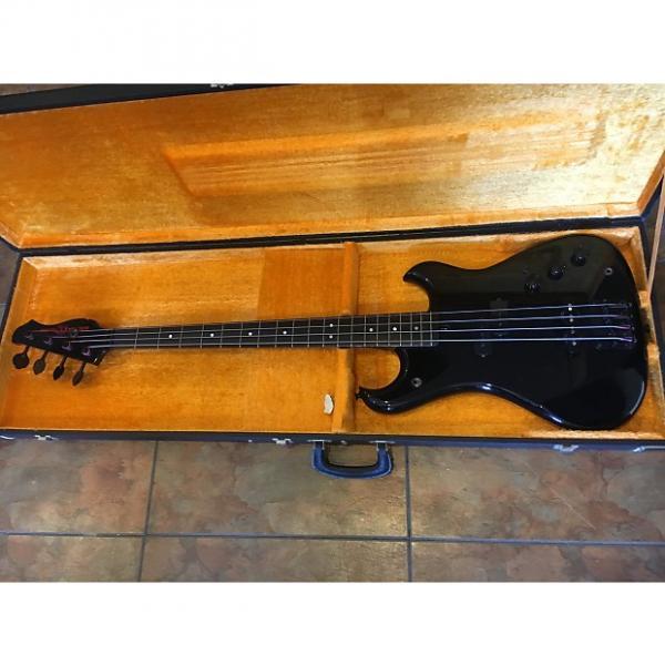 Custom Electra X650JB Electric Bass Guitar Vintage Black w/ Case Japan #1 image