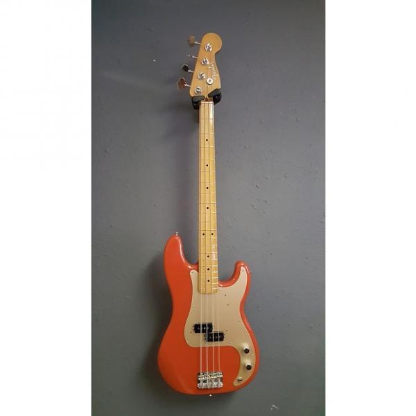 Custom Fender Precision Bass 50's Reissue 2016 Fiesta Red #1 image
