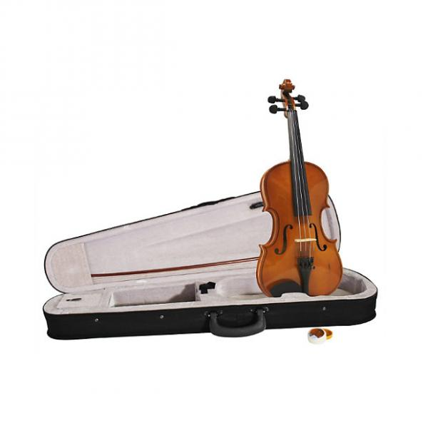 Custom Windsor MI-1013 1/4 Size Violin Outfit Including Case Designed for Children #1 image