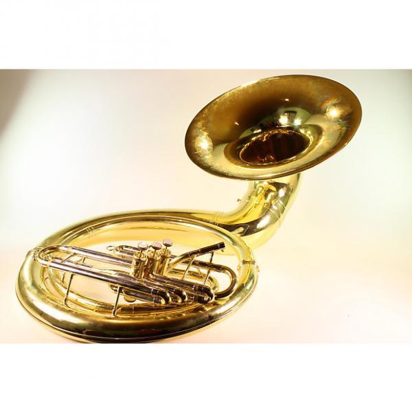 Custom Yamaha YSH-411 Lacquered Brass Sousaphone GREAT HORN! #1 image