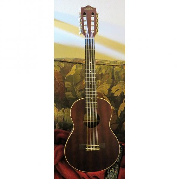 Custom Lanikai LU2-8 Eight-String Tenor Ukulele - Brown Mahogany #1 image