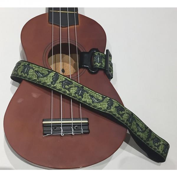 Custom Under The Sea Ukulele Strap (Green) #1 image