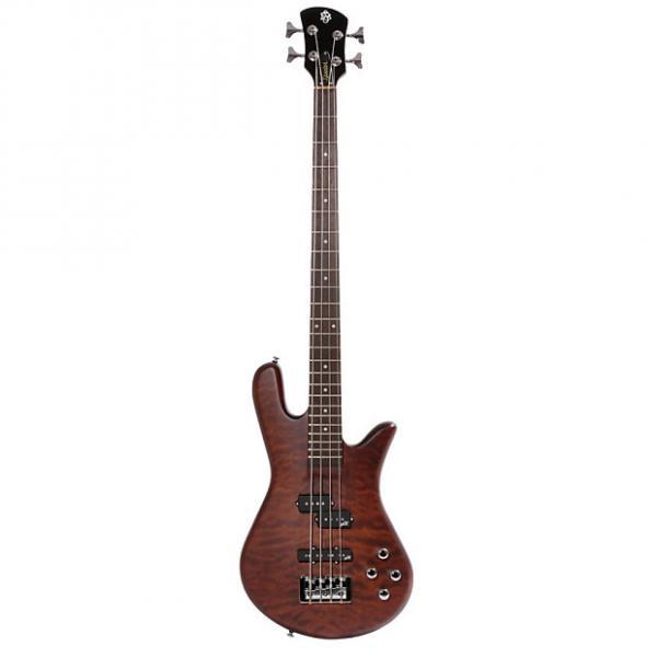 Custom Spector Legend4 Neck-Thru 4-String Aguilar Electronics Walnut Gloss Bass Guitar #1 image