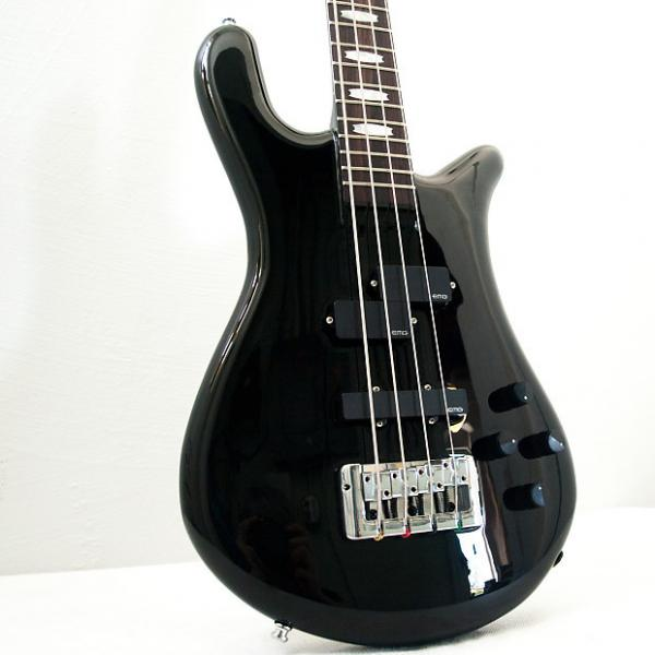 Custom Spector Euro4 LX Solid Black Chrome #1 image