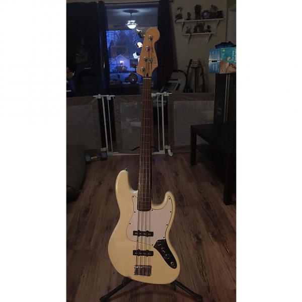 Custom Fender Fretless Jazz Bass Cream #1 image